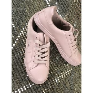 NEW!! Tommy Hilfiger Blush Tennis Shoes